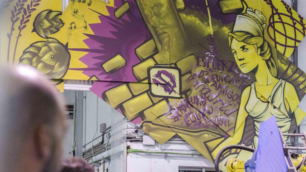 Graffiti La Cibeles Nemo