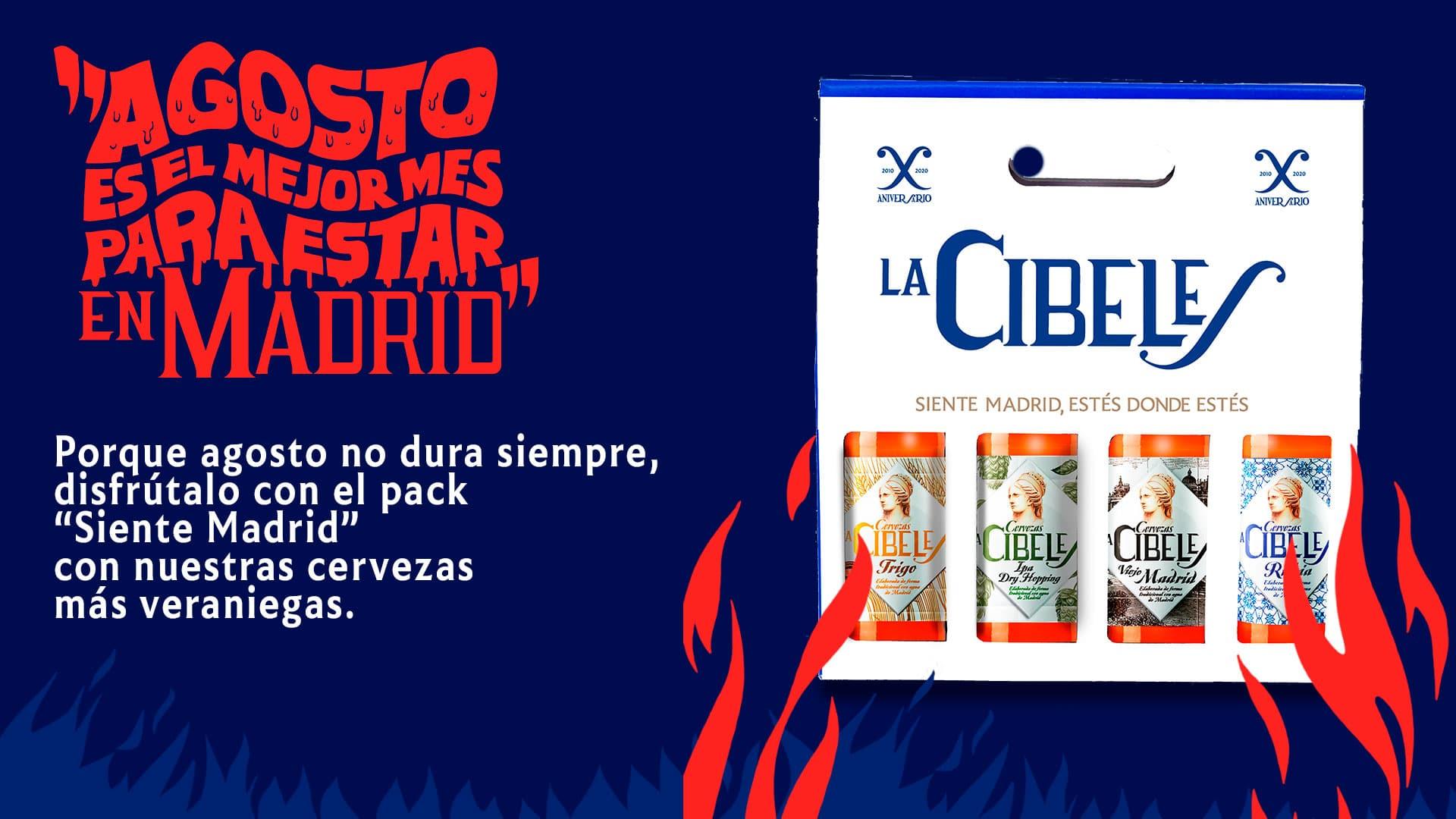 Pack Siente Madrid La Cibeles