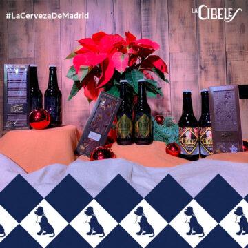 Lote cervezas y chocolate de Madrid