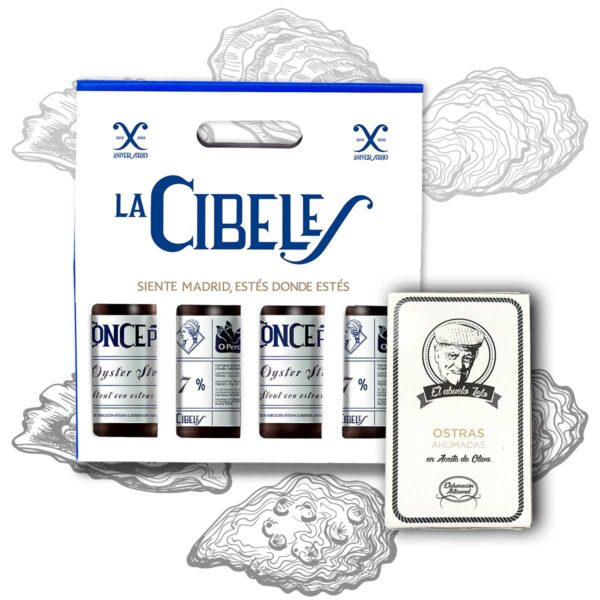Oyster Stout pack Cibeles