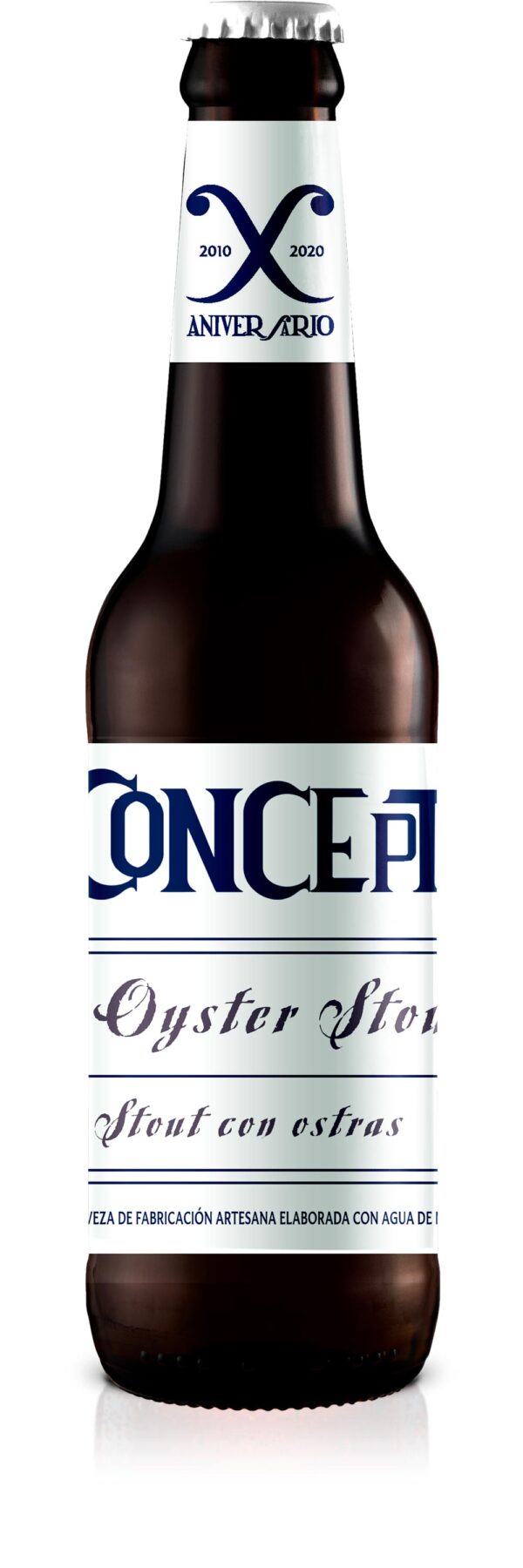 Oyster Stout Gama Concept by La Cibeles